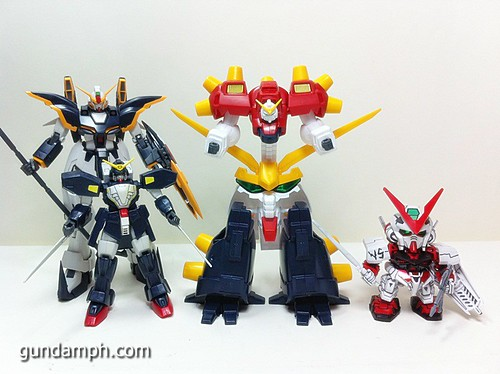 1 144 Devil Gundam Review OOB Build (34)