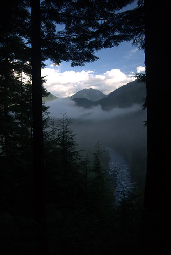 Morning View from Near Aloutte Lake