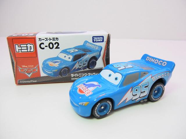 disney cars tomica c-02 dinoco lightning mcqueen (2)