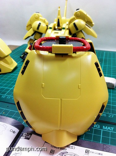 MG The-O PMX-003 Review OOB Build (46)