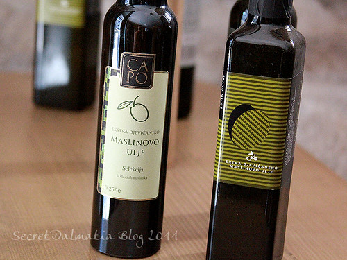 Selection of local olive oils