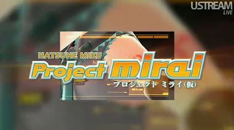 Hatsune Miku: Project mirai