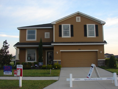 Panther Trace New DR Horton Single Family Homes Riverview Florida 33579