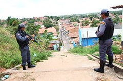 Police Officers Guard Ze Bom Bom