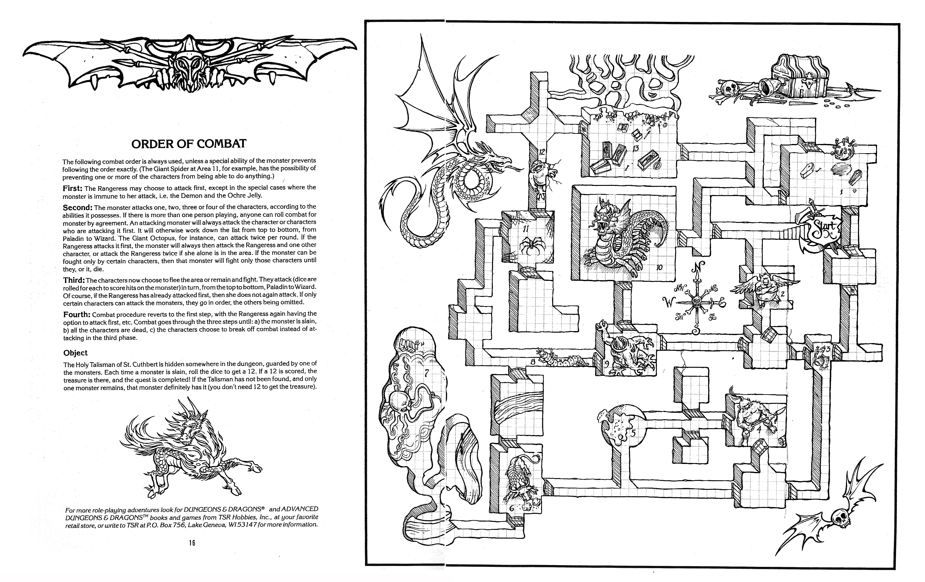 MONSTER BRAINS: The Official Advanced Dungeons and Dragons