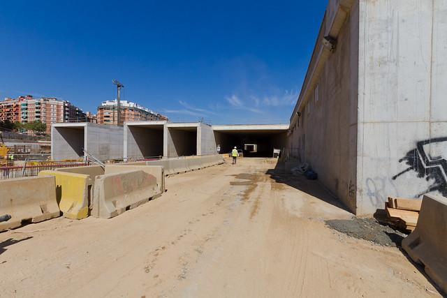 Zona Subestación eléctrica junto a la entrada de los viales - 15-09-11