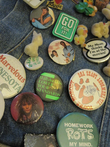1980s buttons