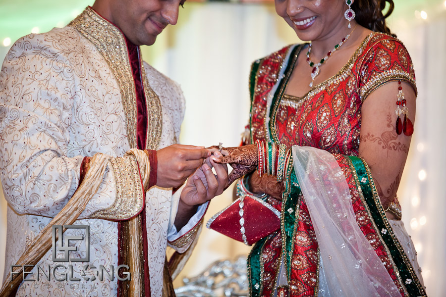 Exchanging Rings | Shamz & Sana's Wedding Day 3 | Zyka Indian Banquet Hall Decatur | Atlanta Indian Photographer