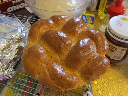 Rosh Hashanah baking marathon begins...