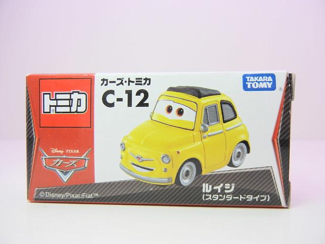 disney cars tomica c-12 luigi (1)