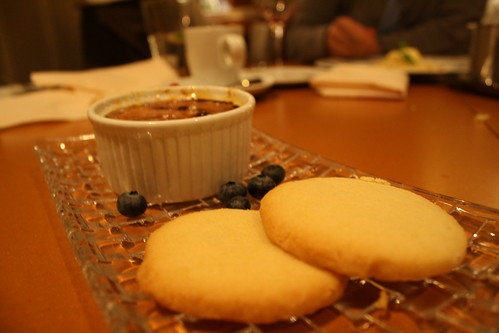 blueberry creme brulee
