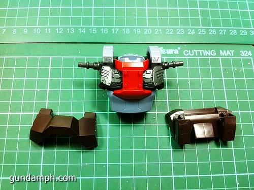 MG Rick Dias Quattro Custom RED Review OOB Build (9)
