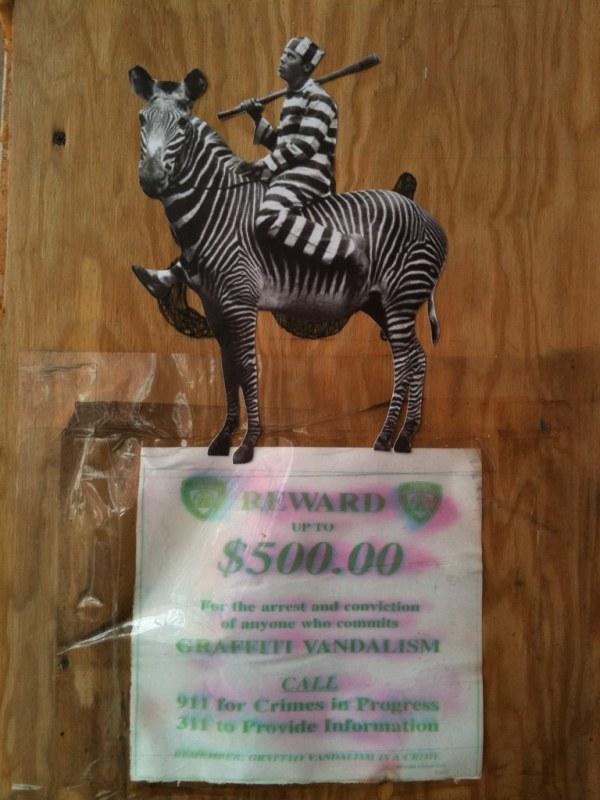 Prison Stripes / $500 Reward
