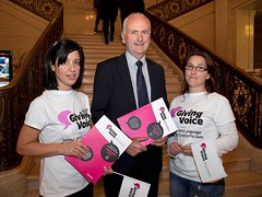 "Gordon Dunne Supports ""Giving Voice""..."