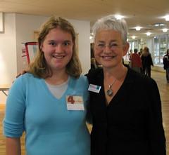 Fan with Jacqueline Wilson