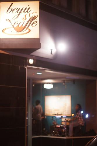 Marcus Anderson Trio, Beyu Caffe, Durham NC, 09/22/11