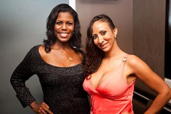 Omarosa and Sole' at Casino Royale