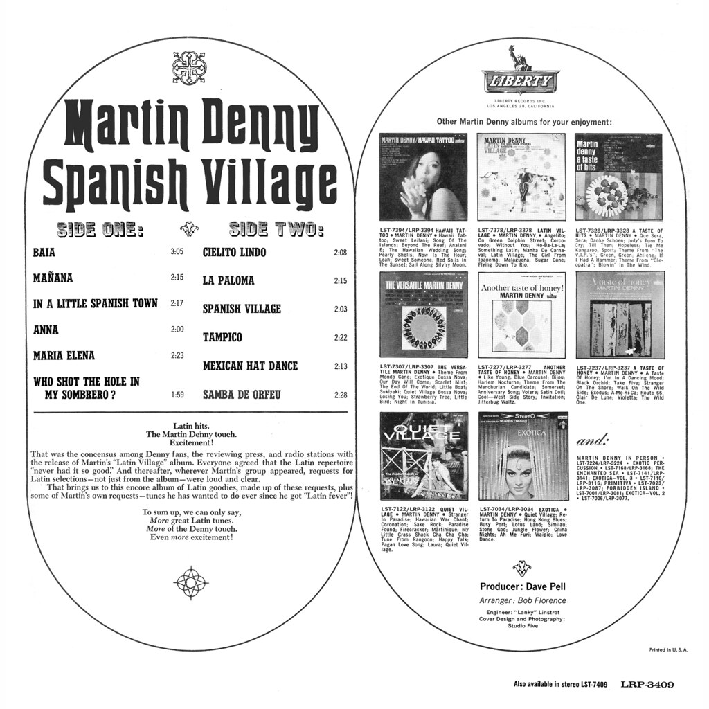 Martin Denny - Spanish Village