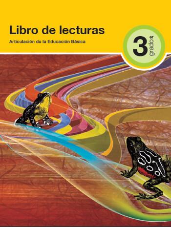 libro de lecturas 3°