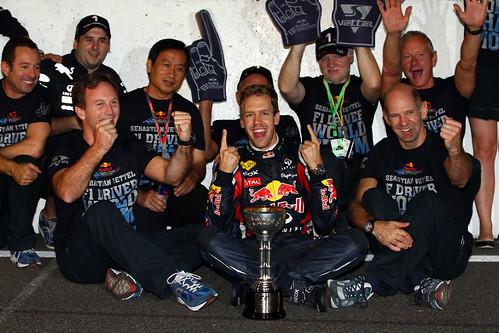 Sebastian Vettel 2011 champion
