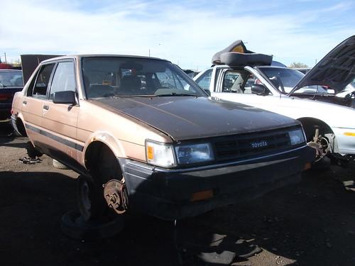 1986 Toyota Corolla sedan