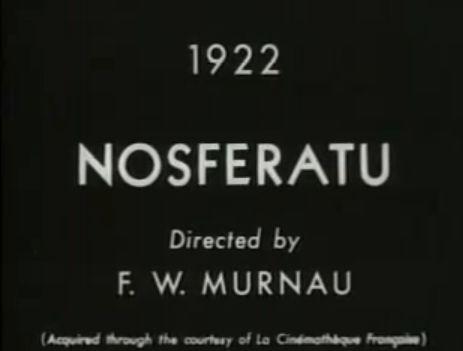 Nosferatu title