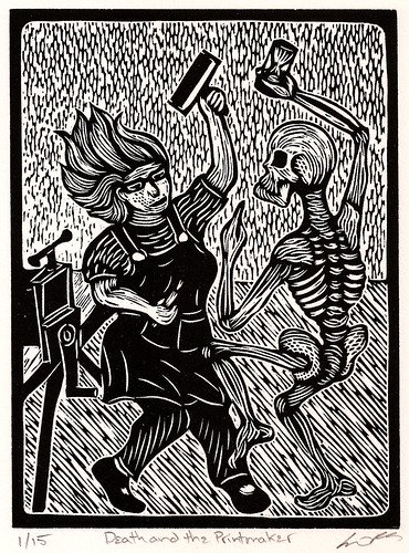Death and the Printmaker