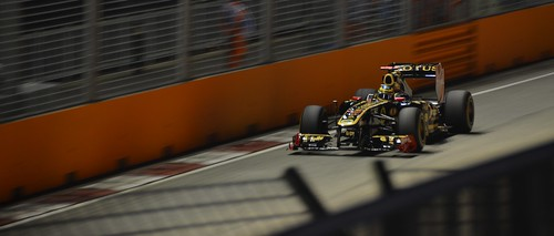Bruno Senna Singapore Grand Prix 2011