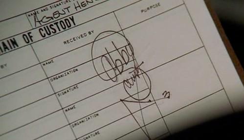Abby's signature