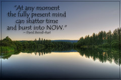 Living In This Present Moment
