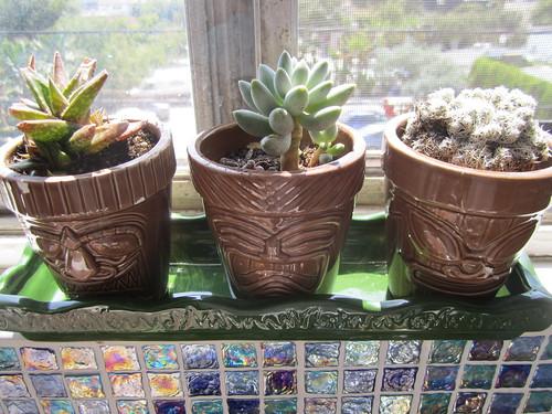Tiki planters