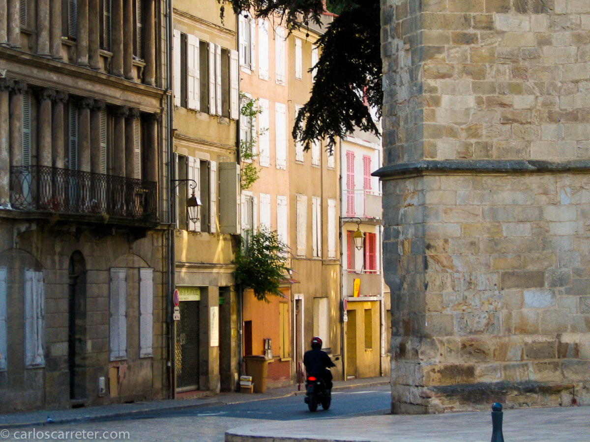Por las calles de Foix