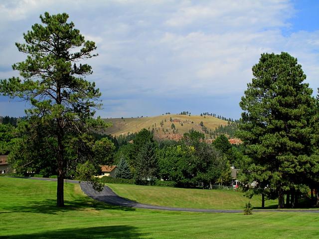 view from stavkirke
