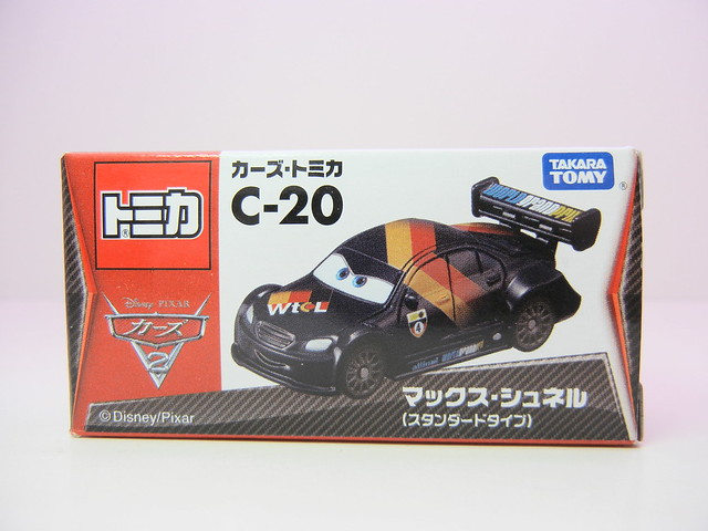 disney cars 2 tomica c-20 max schnell (1)