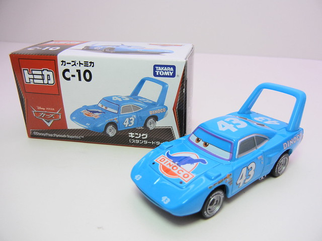 disney cars tomica c-10 The King (2)