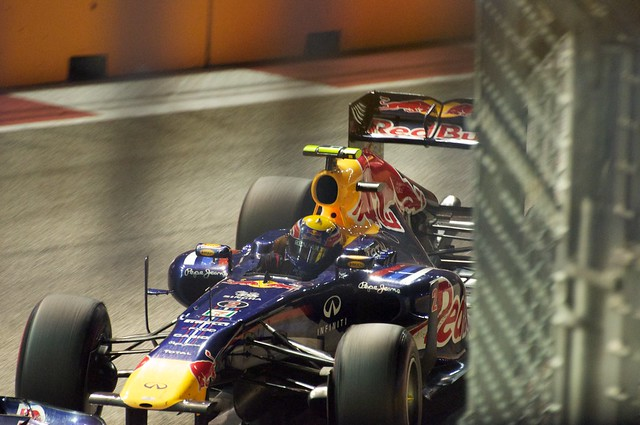 Mark Webber Red Bull Racing