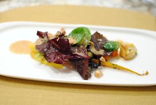 salad of roasted veggies