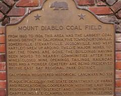 Mt Diablo Coal Field
