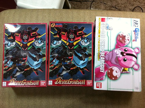 Devil gundam and Pink beargguy bear guy (1)