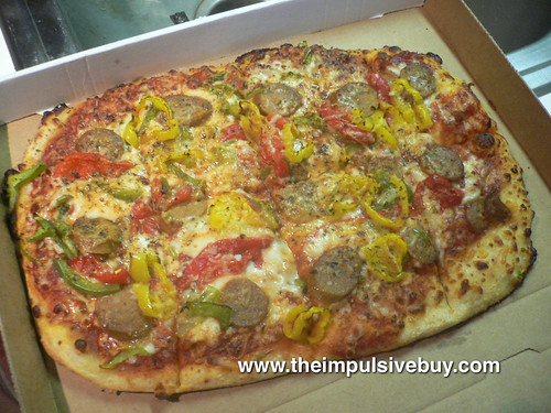 Domino's Italian Sausage & Pepper Trio Artisan Pizza