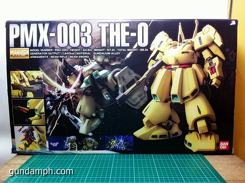 MG The-O PMX-003 Review OOB Build (4)