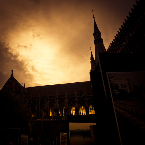 The Haunted Cathedral (Cathédrale Saint-Paul, Liège) - Photo : Gilderic