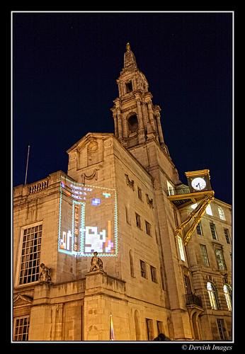 Leeds Light Night - Tetris