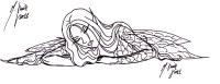 Dibujos de hadas goticas para colorear