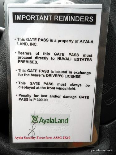 Nuvali Gate Pass (1)