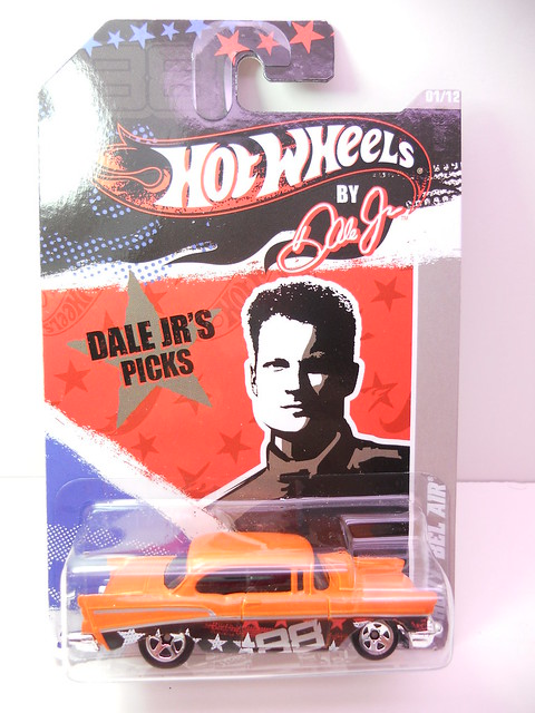hot wheels by dale jr chevy bel air