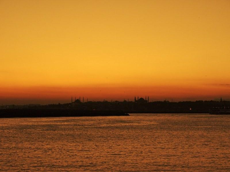 Haydarpaşa sunset