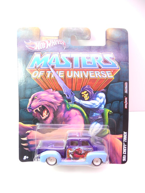 hot wheels masters of the universe 50's chevy truck (1)