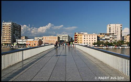 Zadar, bridge Branimir