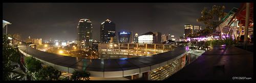 'Jakarta by Night' Panorama